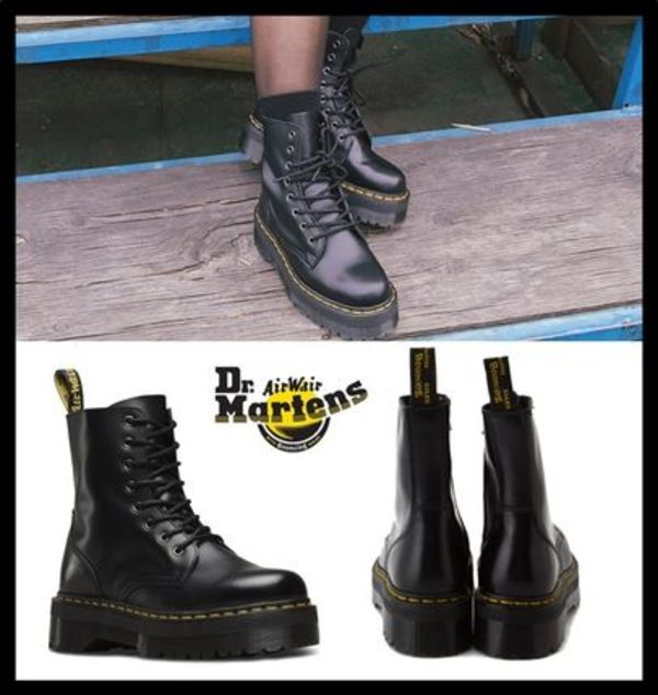 ☆関税込☆Dr Martens★JADON POLISHED SMOOTH 厚底 ブーツ★