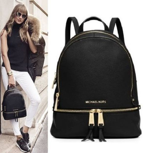 【SALE!】Rhea Small Leather Backpack/レザーリュック♪