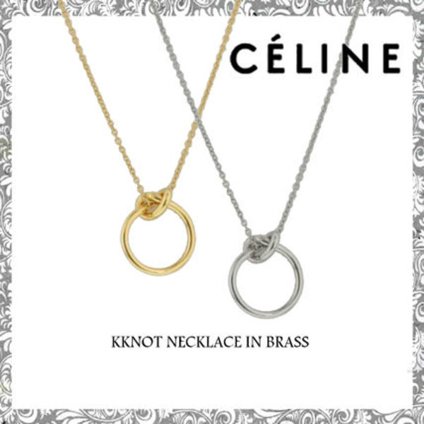 ☆ CELINE☆ KNOT NECKLACE ノットネックレス