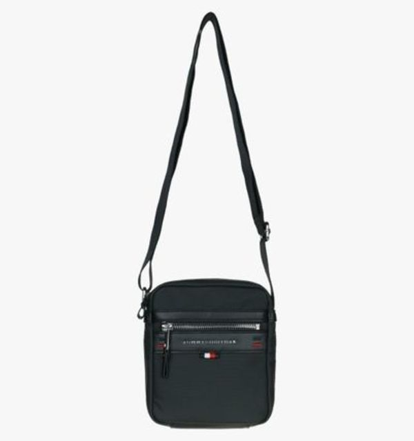 ★大人気★Tommy Hilfiger★Cotton Square Logo Reporter Bag