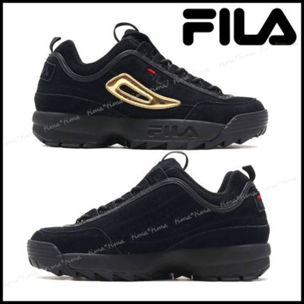 【注目コラボ】FILA x atmos x THE BLACK SENSE Disruptor 2
