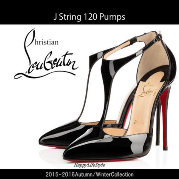 15-16AW★J String 120 パンプス Black★Christian Louboutin