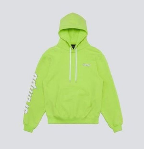 Stampd KMS Hoodie Highlighter Yellow
