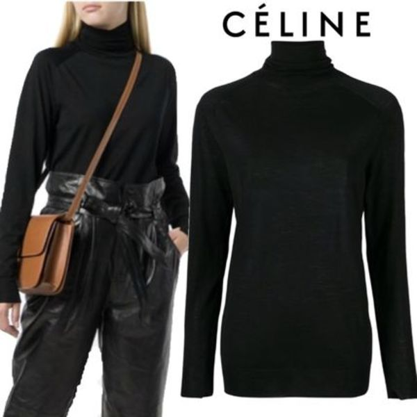 【18AW】★CELINE★turtle neck jumper