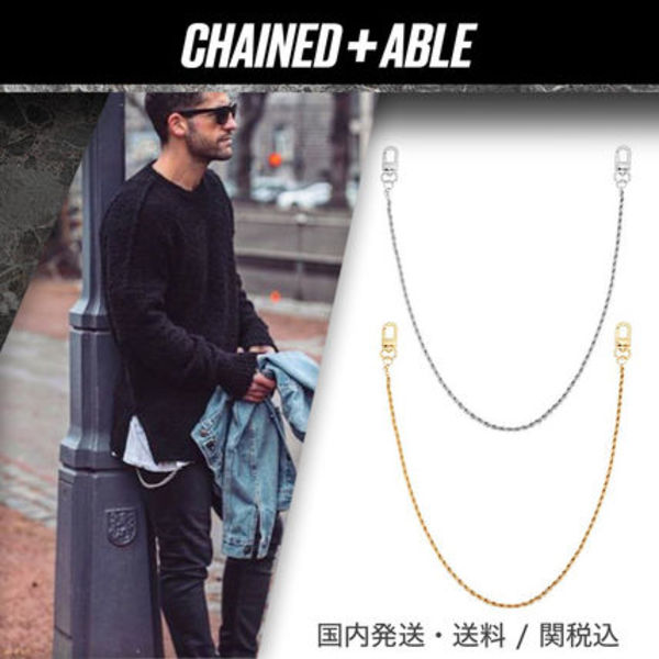 Chained & Able★ミニロープ ウォレットチェーン★クーポン付き