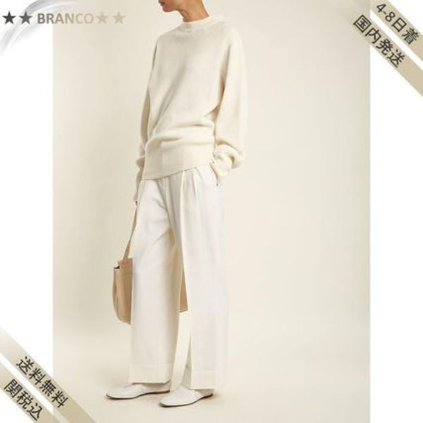 最終SALE▼Liano high-rise stretch-wool パンツ