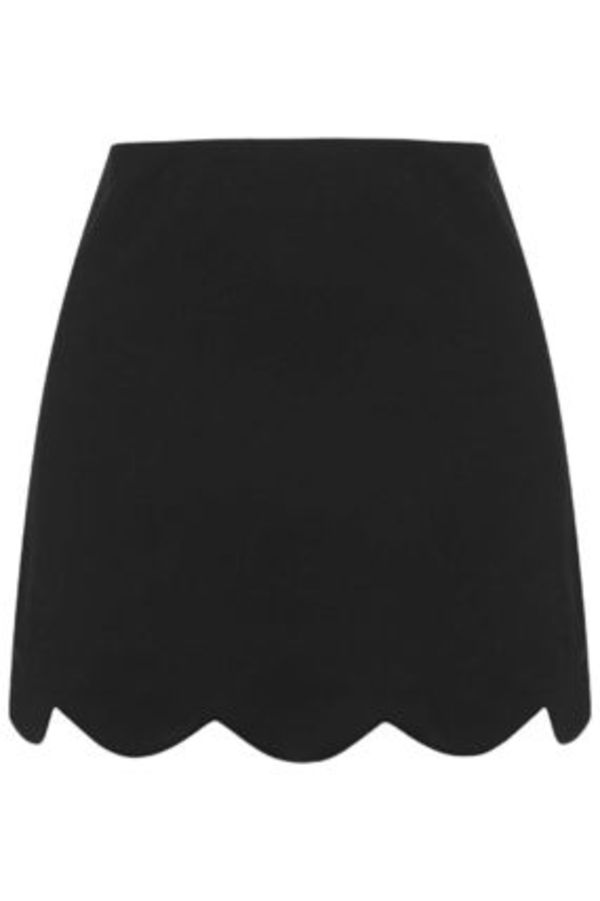 《プチ・160cm以下の方対象♪》TOPSHOP☆Scallop Hem Mini Skirt