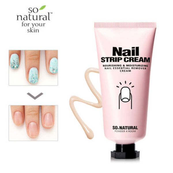 低刺激&保湿リムーバー♥SO NATURAL NAIL STRIP CREAM♪
