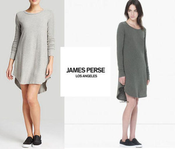 即発関税込! JAMES PRESE VINTAGE FLEECE SWING DRESS