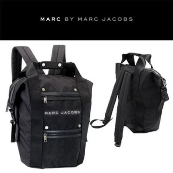 Marc by Marc Jacobs★Handle Back Pack/ブラック