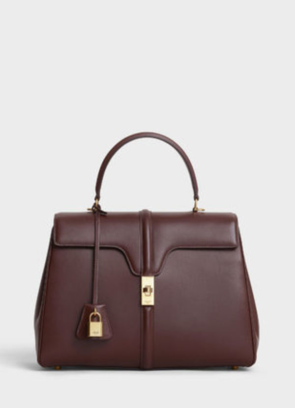 【CELINE】2019SS新作 MEDIUM 16 / SATINATED CALFSKIN (BROWN)