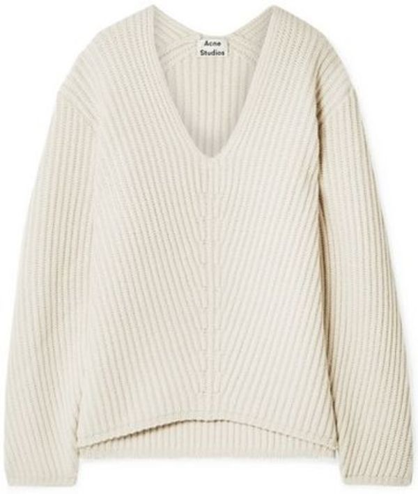 ★関税負担★ACNE STUDIOS★DEBORAH RIBBED WOOL SWEATER