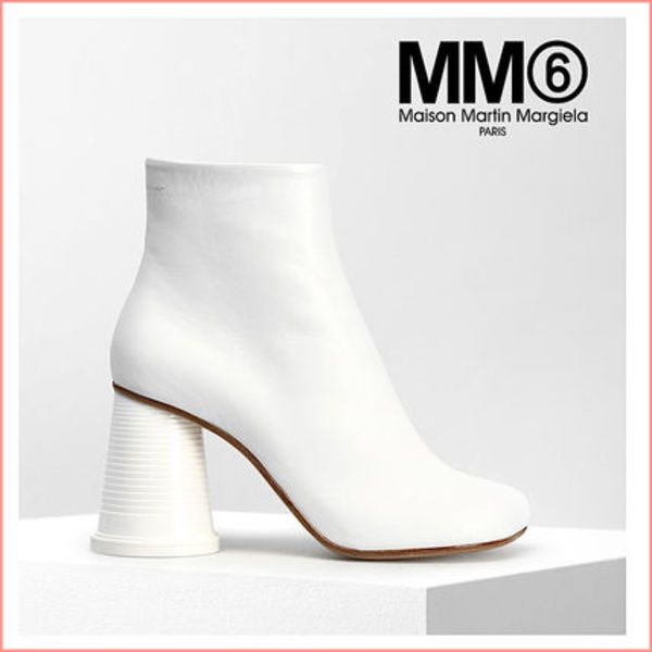 【MM6 Maison Margiela】ANKLE BOOTS WITH CUP HEELS  (関送込)