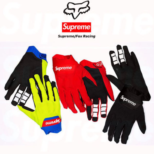 12 week SS18 Supreme Fox Racing  Bomber LT Gloves