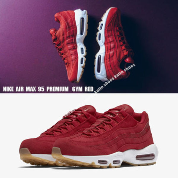 NIKE★AIR MAX 95 PREMIUM★GYM RED