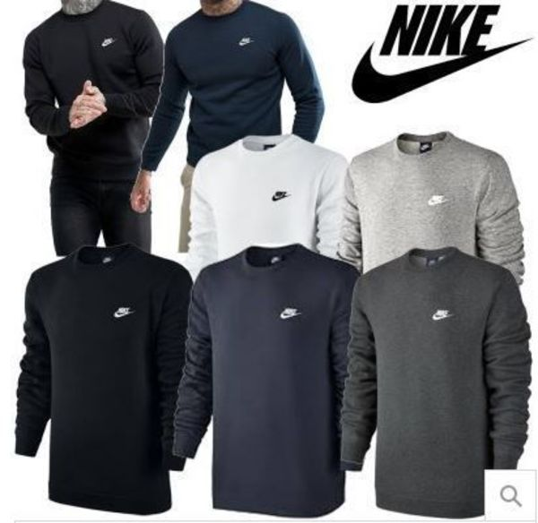 ★NIKE NSW CLUB FLEECE CREW NECK 起毛トレーナー/スエット★