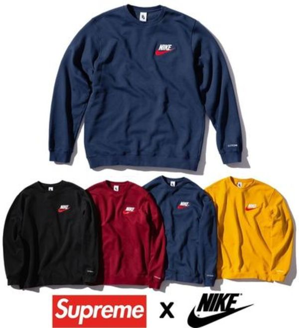 Supreme  Nike Crewneck AW 18  WEEK 6