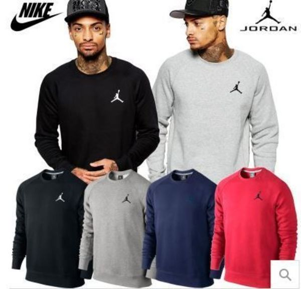 ★NIKE JORDAN JUMPMAN BRUSHED CREWNECK スエット/トレーナー★