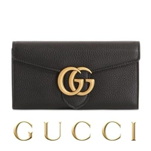 GUCCI  GG Marmont  CELLARIUS LEATHER WALLET 2015AW