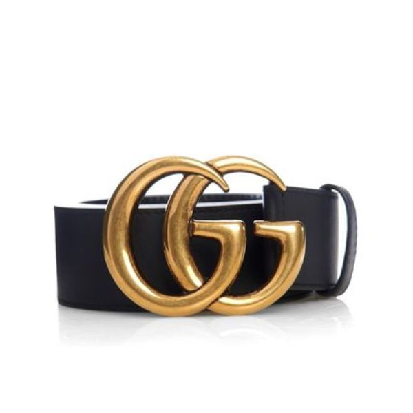 新作♡関税込【GUCCI】GG-Logo Leather Belt