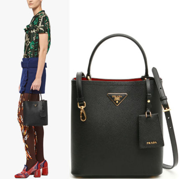 PR1562 PRADA DOUBLE SAFFIANO BAG