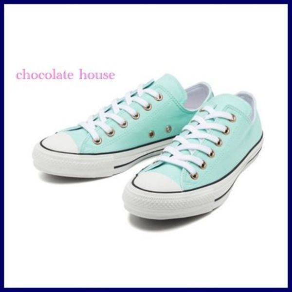国内発【CONVERSE】 ALL STAR 100 LD COLORS OX  MINT グリーン