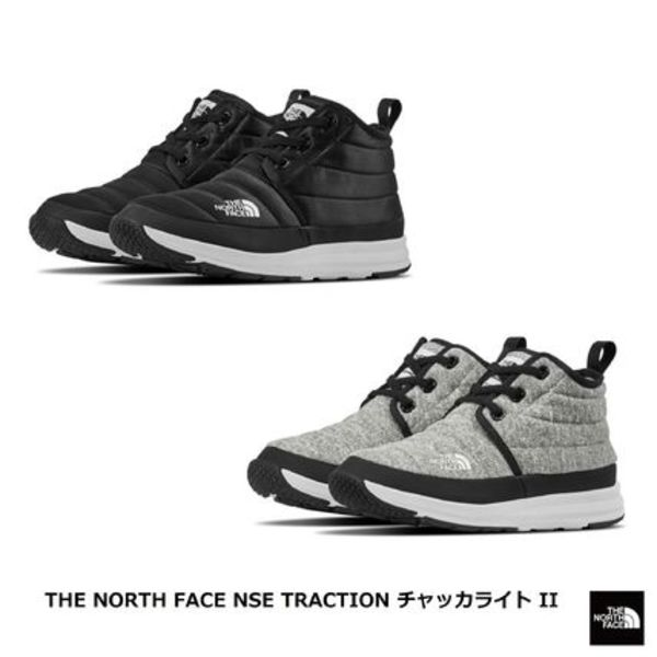 [THE NORTH FACE] あたたかブーツ NSE TRACTION CHUKKA LITE II