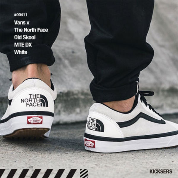 人気話題コラボ!Vans x The North Face Old Skool MTE DX White