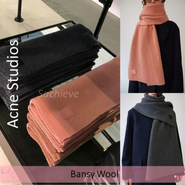 Acne Studios :: Bansy Face Large :: フェースパッチマフラー