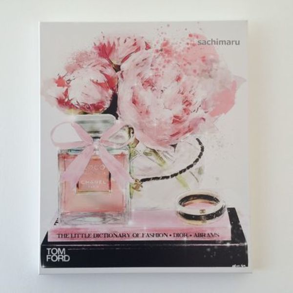 Oliver Gal★Elegant Perfume and Morning★キャンバス 43x51cm
