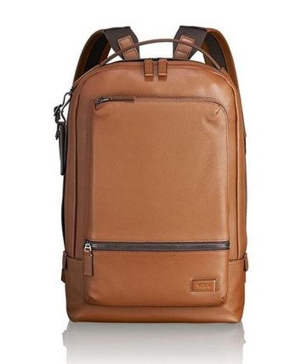 Tumi ★ 63011 Harrison Bates Backpack Umber Pebbled Leather