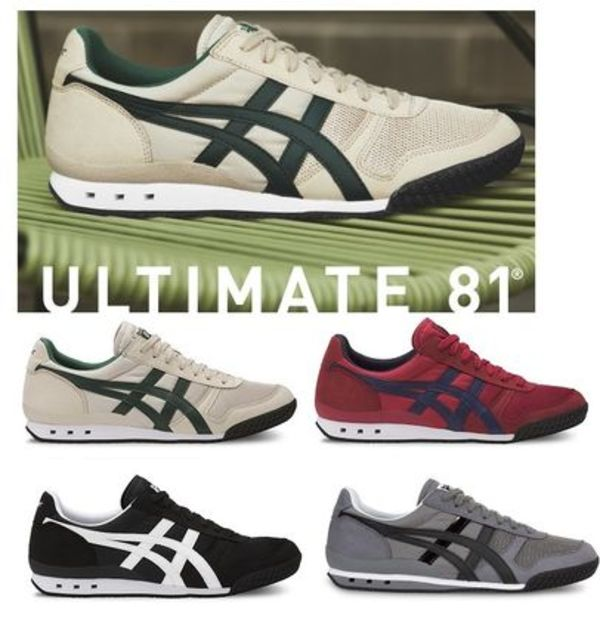 2017-18AW&日本未発売ULTIMATE 81☆ONITSUKA TIGER