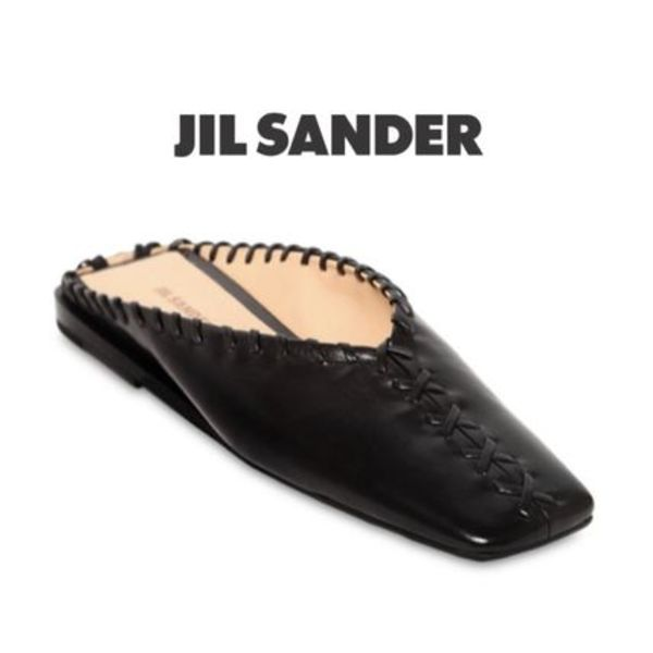 【19SS】★Jil Sander★10MM STITCHED LEATHER MULES