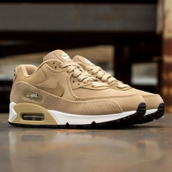 【Nike】W AIR MAX90 LEATHER★ベージュ 921304-200