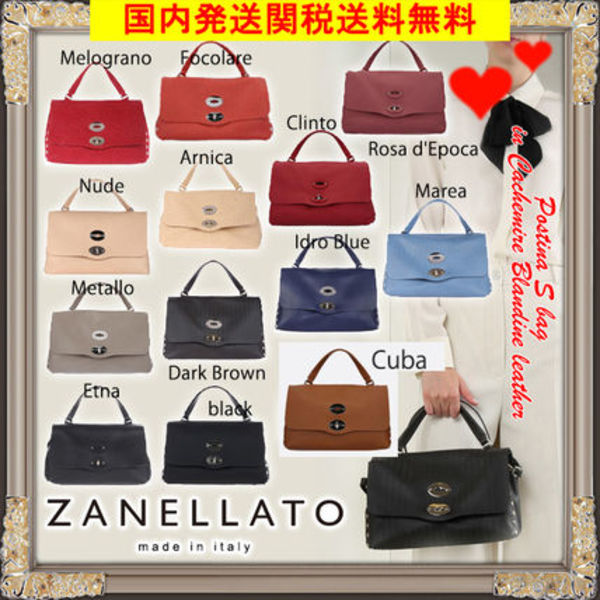 VIP価格★ZANELLATO★Postina ★Small 2Wayバッグ色豊富!!