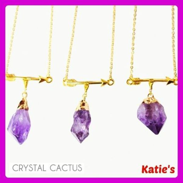 2月誕生石☆CrystalCactus☆LOVESTRUCK AMETHYST☆日本未入荷