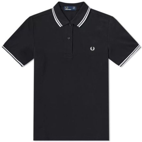★FRED PERRY SLIM FIT TWIN TIPPED  ポロシャツ関税込★
