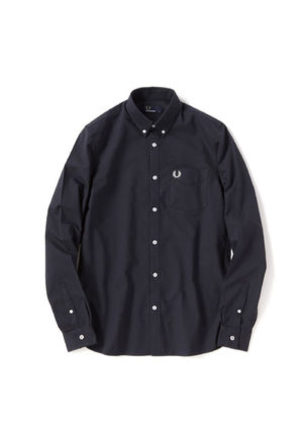 フレッドペリー  M3551J 102 CLASSIC OXFORD SHIRT BLACK