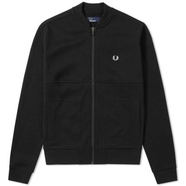 ★FRED PERRY PIQUE BOMBER SWEAT 関税込★
