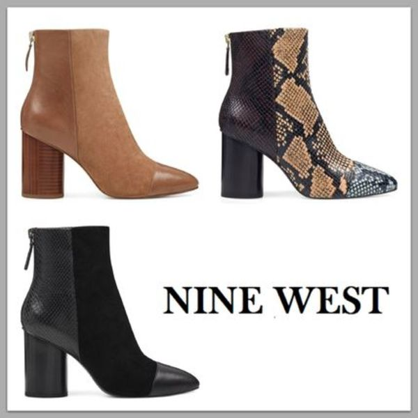 【SALE!!】NINE WEST☆3色展開 ショートブーツ Cabrillo Booties