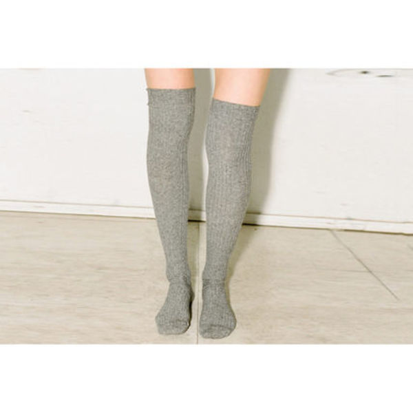 【 Base Range 】 Overknee Socks