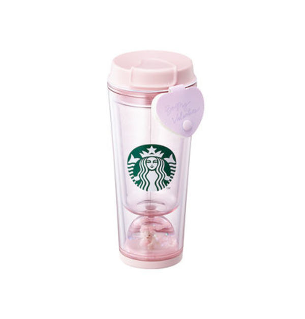 韓国スタバ★Loveletter waterball tumbler 355ml