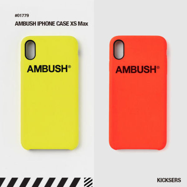 人気話題!AMBUSH IPHONE CASE XS Max / 8 / 8 PLUS / X