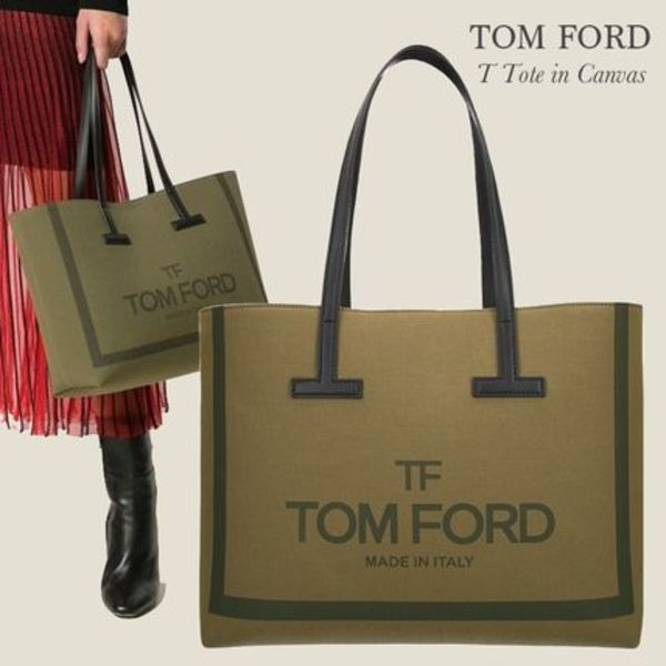 TOM FORD キャンバス トートバッグ