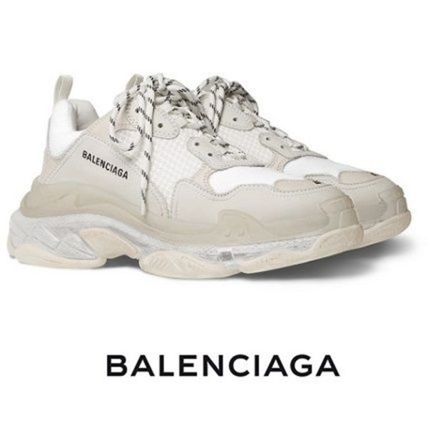 【BALENCIAGA】Triple S Clear Sole スニーカー