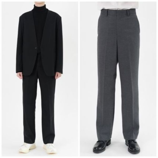 日本未入荷HI FI FNKのUnion Semi Wide Slacks (2color)