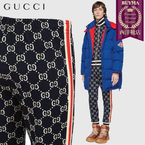 【正規品保証】GUCCI★19春夏★LOGO COTTON JACQUARD LEGGINGS