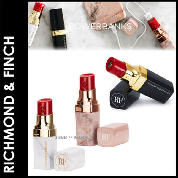 ★追跡&関税込【RICHMOND & FINCH】Lipstick Powerbank