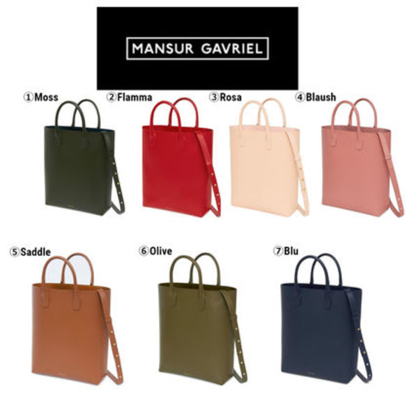【MANSUR GAVRIEL】新作♡CALF NORTH SOUTH TOTE