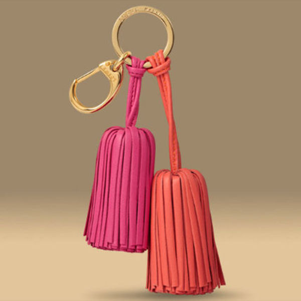 LOEWE★ロエベ┃TWO TASSELS KEYRING